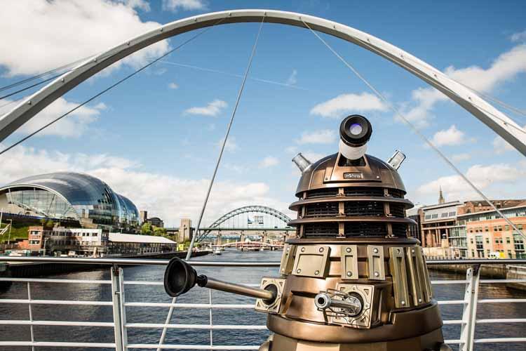 Dalek invasion Newcastle (1)