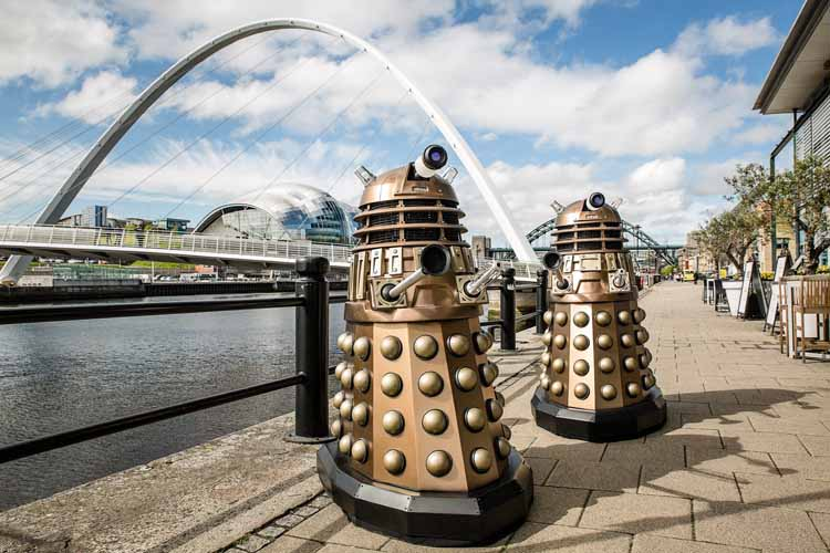 Dalek invasion Newcastle (2)
