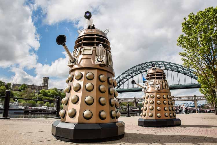 Dalek invasion Newcastle (3)