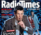Snowy Doctor Who Radio Times Cover