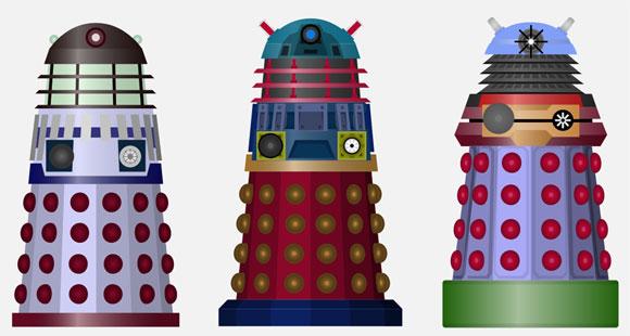 HTML5 Dalek Colour Scheme Creator – The Doctor Who Site News