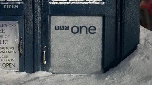doctor who christmas ident tardis