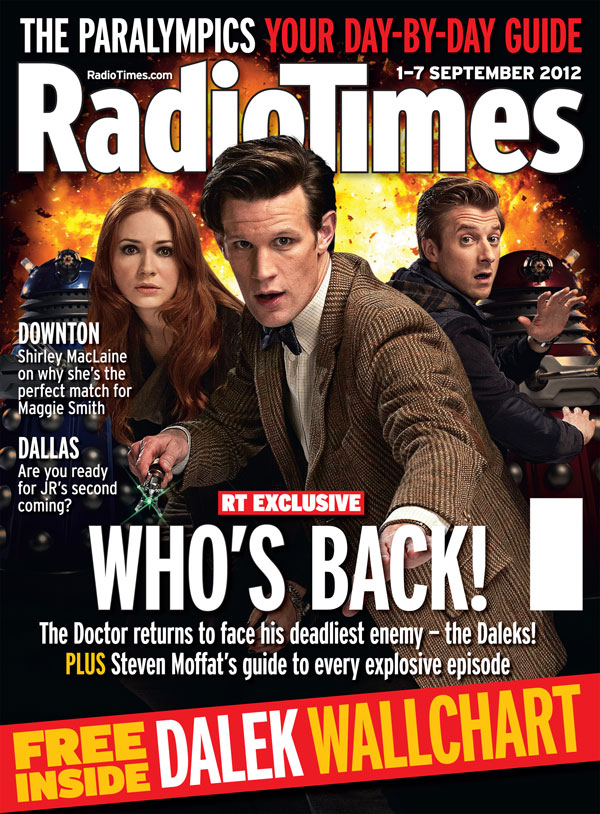 Doctor Who Radio Times. 2003 to present day. Radio-times-2012