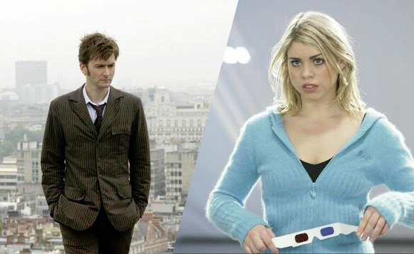 Gallery For > David Tennant And Billie Piper 50th Anniversary