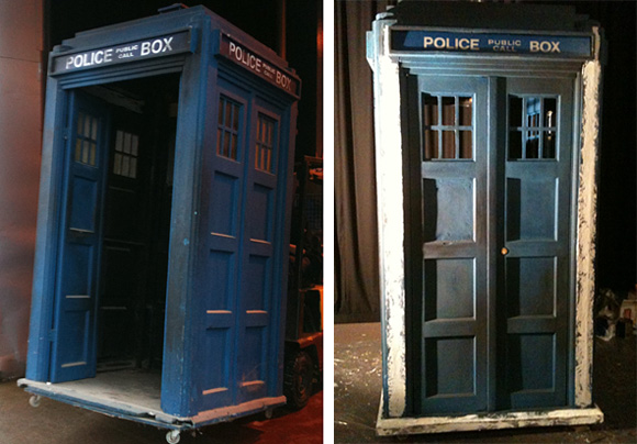 4th Doctors TARDIS restoration for the doctor who experience in London