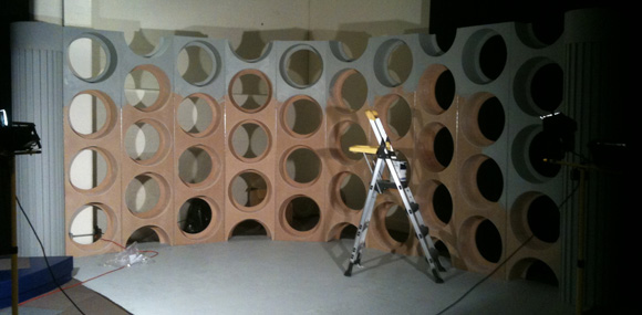 The making of the 5th Doctors console room