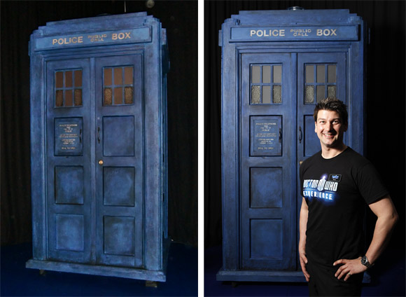 The 4th Doctors TARDIS fully restored for the experience